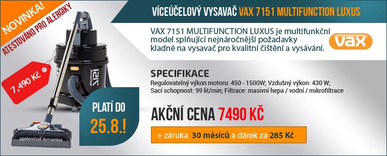 Víceúčelový vysavač VAX 7151 LUXUS EE