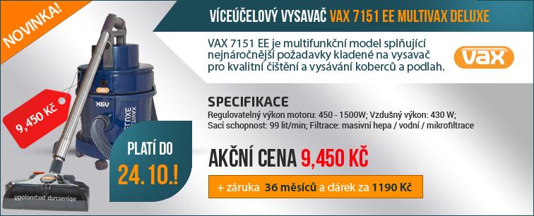 V�ce��elov� vysava� VAX 7151 EE MULTIVAX DELUXE