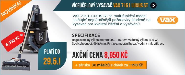 V�ce��elov� vysava� VAX 7151 LUXUS ST