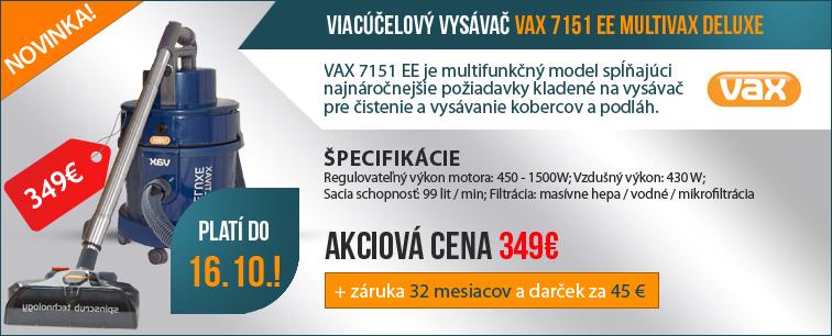 Víceúčelový vysavač VAX 7151 LUXUS ST